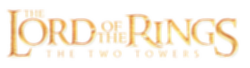 파일:The Lord of the Rings The Two Towers Logo.png