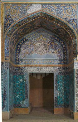 파일:Tabriz_blue_mosque_door.jpg