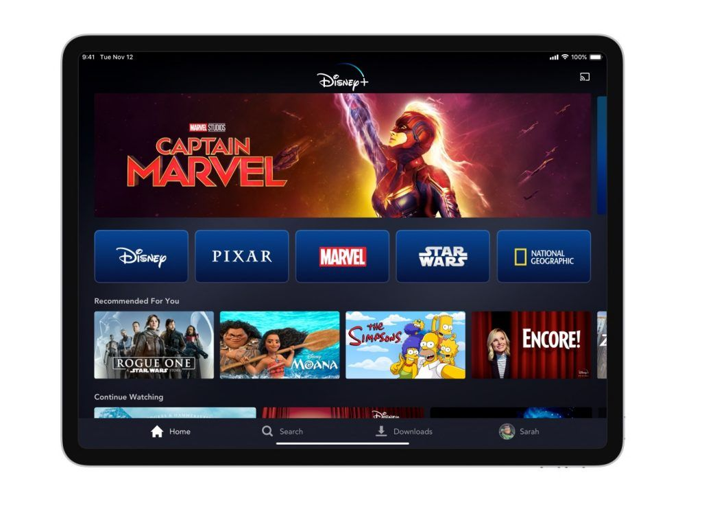 파일:Disney Plus New iPad User Interface.jpg