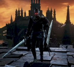 Ds Ringed Knight Straight Sword Weapon Art On Firelink Gs