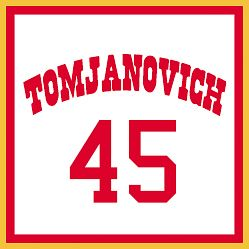 파일:Rudy Tomjanovich Retired Number 45.jpg