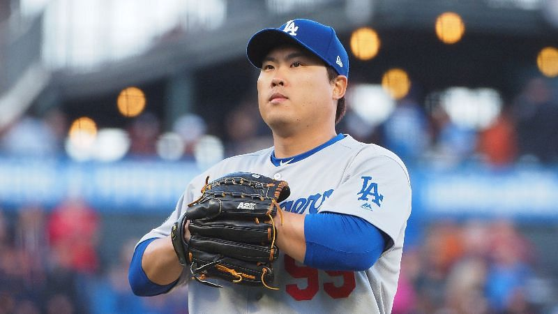 파일:Hyun-Jin-Ryu-Dodgers-Giants.jpg