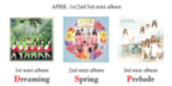 파일:APRIL 123 mini albums.png