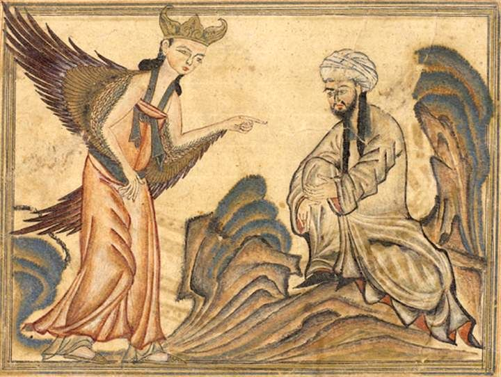 파일:Mohammed_receiving_revelation_from_the_angel_Gabriel.jpg