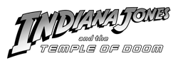 파일:Indiana Jones and the Temple of Doom Logo.png